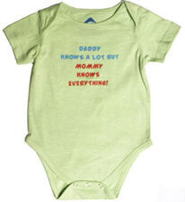 Funky Onesie: Daddy Knows A Lot But 398