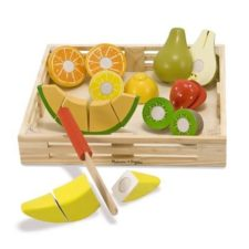Wooden Cutting Fruit Crate