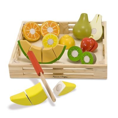 Wooden Cutting Fruit Crate 109