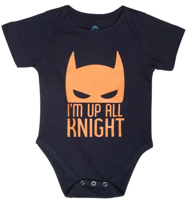Funny Romper: All Knight Baby 382