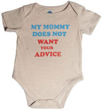 Funny Onesie: Advice 391