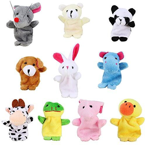 Animal Finger Puppets 271