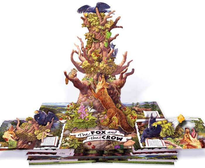 Aesop's Fables: A Pop-Up Book of Classic Tales 390