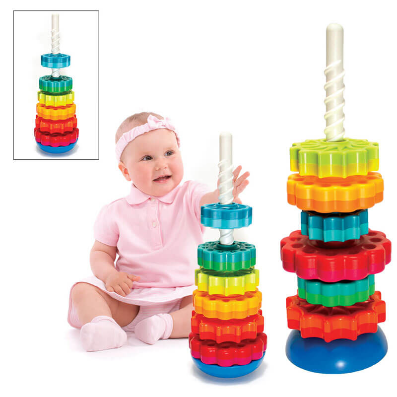 spin stacking toy