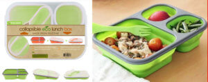 silicone collapsible lunchbox