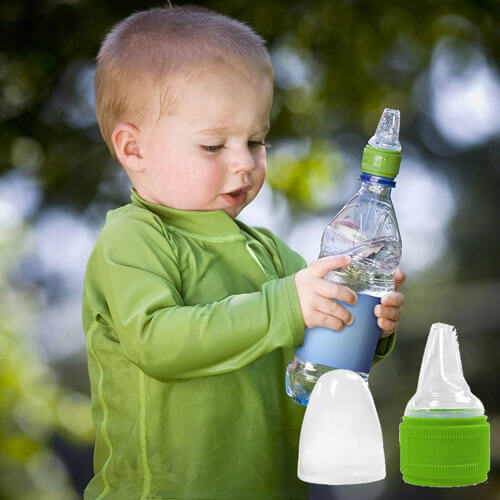 Toddler Water Bottle Cap Adapter 683