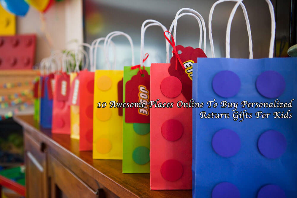 10 Awesome Places To Buy Personalised Return Gifts For Kids India