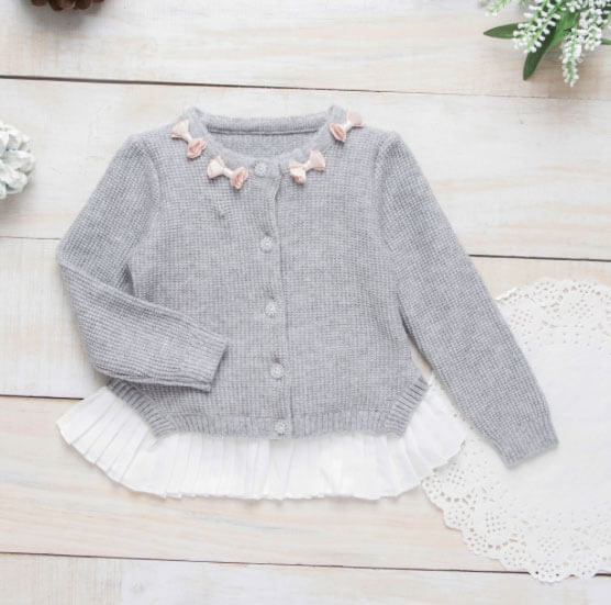 Grey Sweater For Girls 670