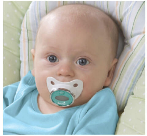 Pacifier Digital Thermometer 596