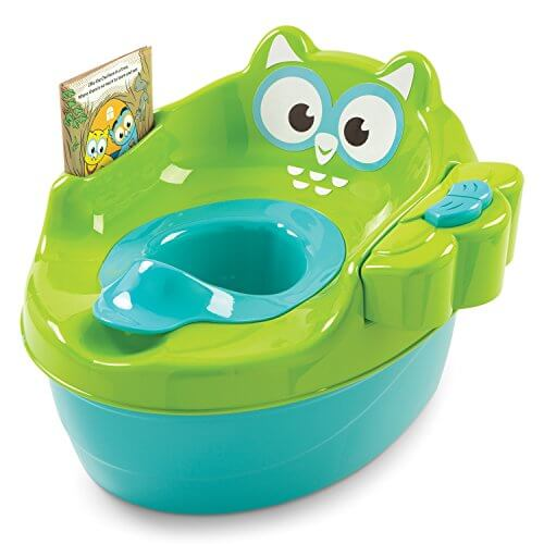Summer Infant 3-in-1 Owl Tales Interactive Potty with Storybook 855