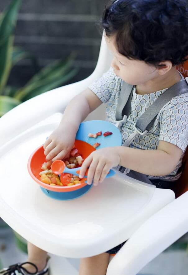Suction Bowl with Spill Catcher 901
