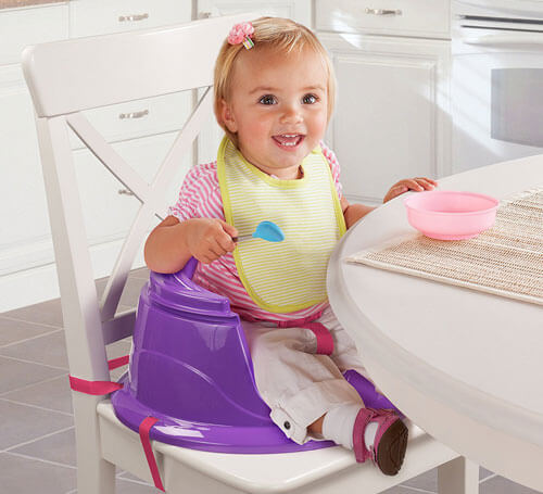 3-Stage Booster Chair With activity Tray 756