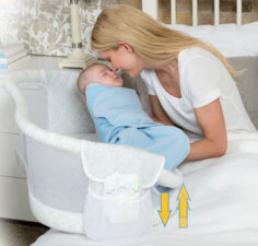 Swivel Sleeper cum Bassinet