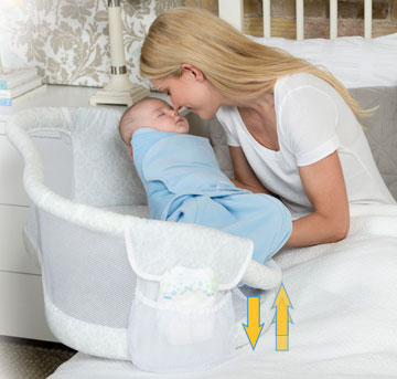 Swivel Sleeper cum Bassinet 1127
