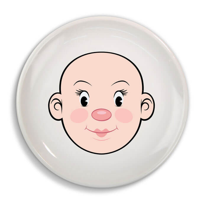 Ms Food Face Plate 1086