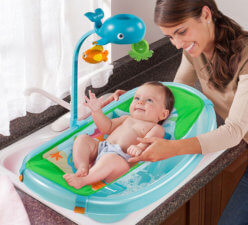 Baby Tub With Toy Bar 942