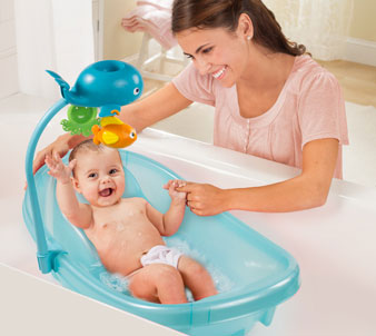 Baby Tub With Toy Bar 941