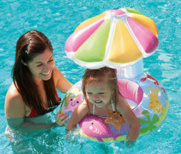 baby float with canopy