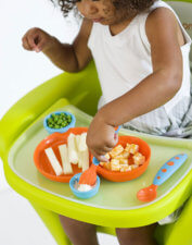 Interlocking Plate and Bowl Set with Cutleries