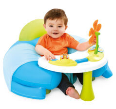 cosy seat with activity tray