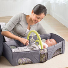 infant travel bed