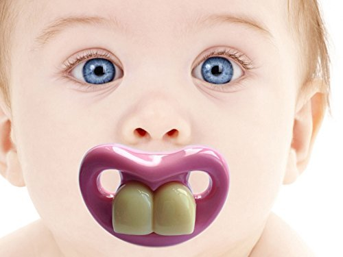 Two Front Teeth Pacifier 1477