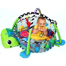 play gym with ball pit