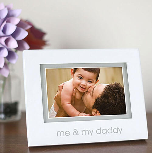 Daddy And Baby Photo Frame | I Want That Momma