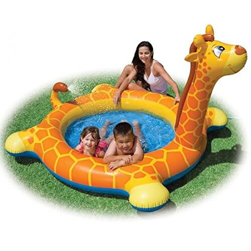 Giraffe Kids Pool With Spray Tail 1847