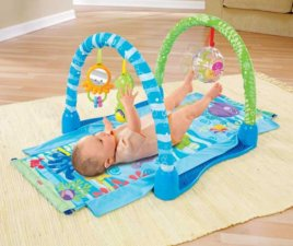 Ocean Wonders Kick Crawl Baby Gym