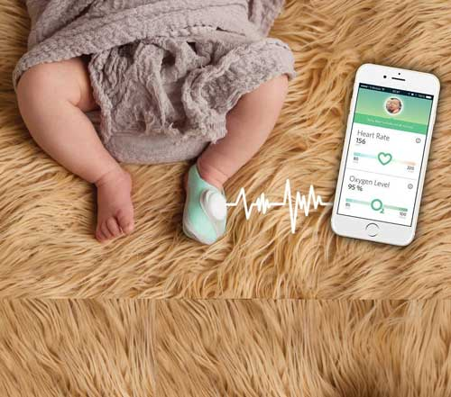 Baby Monitor Sock For Newborns I Want That Momma