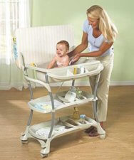 Ultimate Baby Bath Changing Center