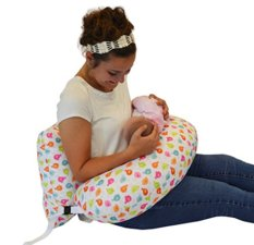 nursing pillow with back support