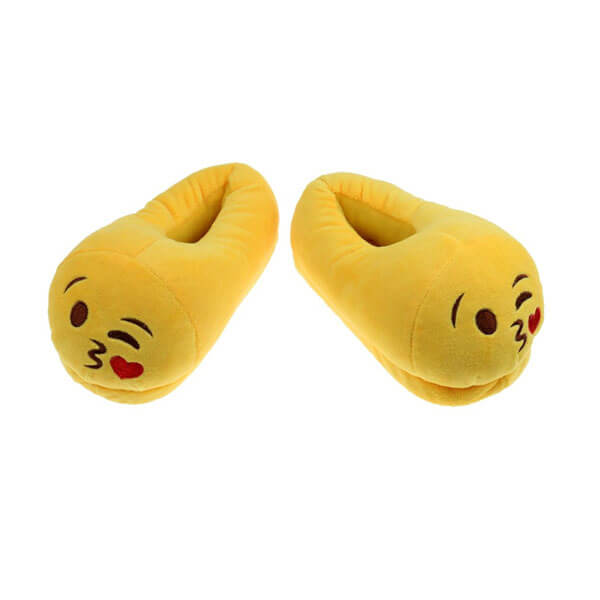 Emoji Plush Slippers 2212