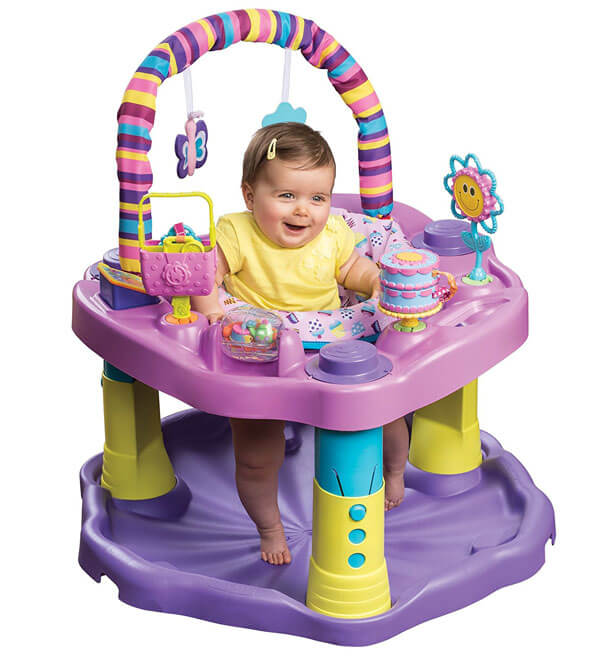 Evenflo Exersaucer Sweet Tea Party 2183