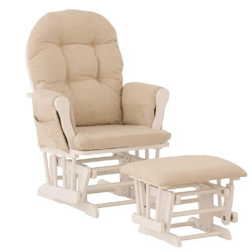 Nursing Glider And Ottoman 2291