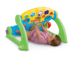5 in 1 adjustable play gym