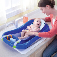 newborn to toddler bath tub