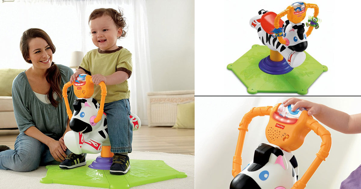 Bounce and Spin Zebra 2967