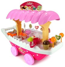 pretend play ice cream shop cart