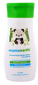 best baby lotion India