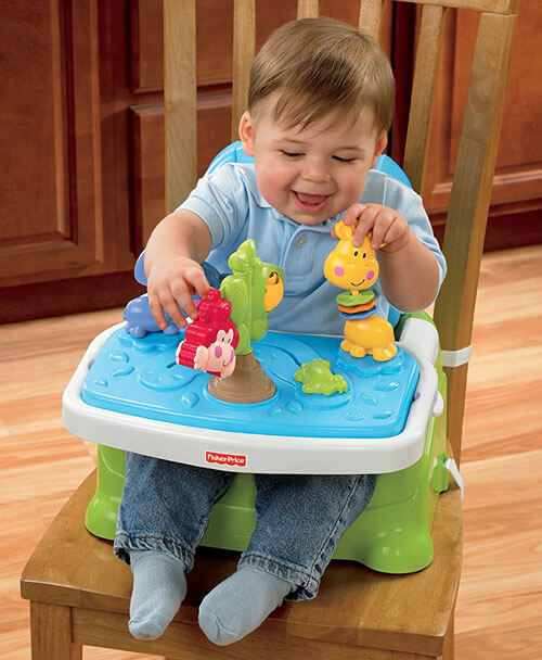 Baby Booster Chair With Play Center 2765