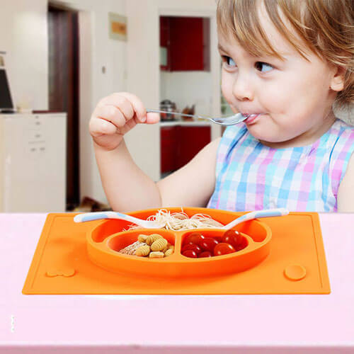 Silicone Placemat Plate 2641