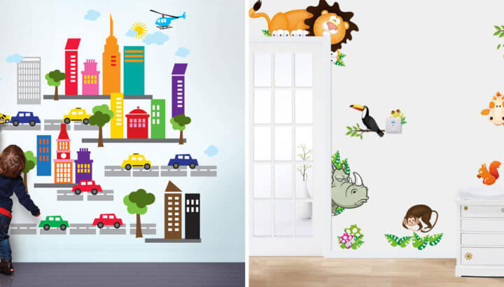 20 Coolest Wall Decals For Kids Room - I WANT THAT MOMMA
