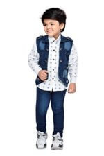 Jeans and Jacket Clothing Set for Boys 2917