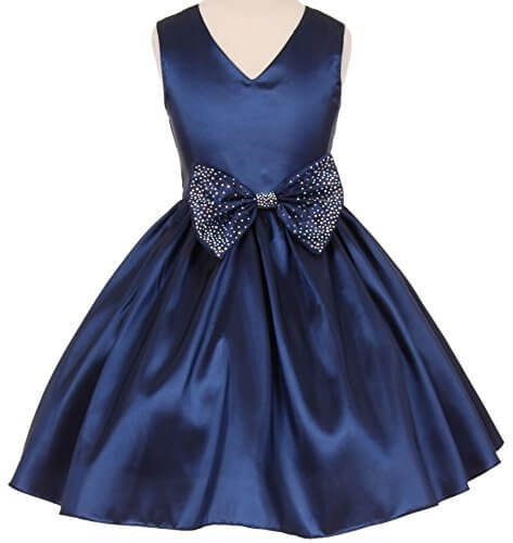 Royal Blue Party Frock 3001