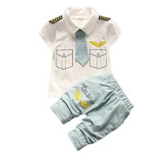 Little Blue Pilot Boys Set 2923
