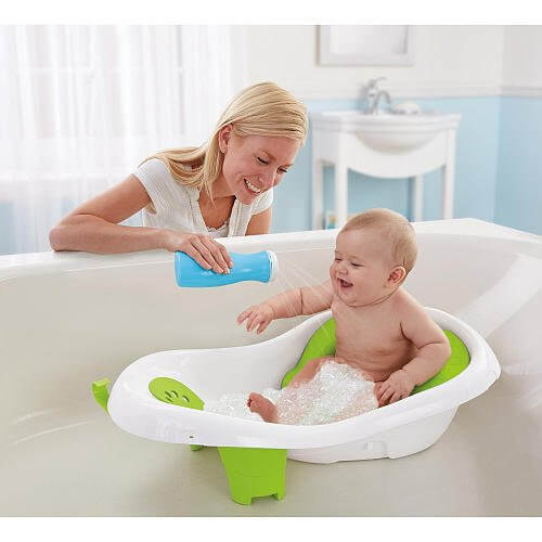 Newborn To Toddler Sling And Seat Bath Tub 2971