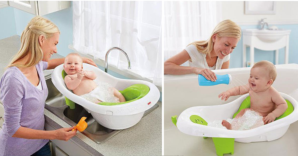 Newborn To Toddler Sling And Seat Bath Tub | I Want That Momma