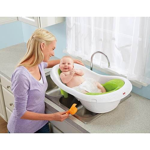 Newborn To Toddler Sling And Seat Bath Tub 2978